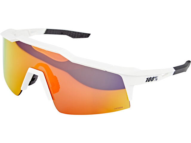 100% Speedcraft Brille Small soft tact off white hiper red/HD multilayer mirror